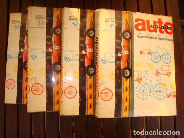 AUTOMUNDO (Coches y Motocicletas Antiguas y Clásicas - Catálogos, Publicidad y Libros de mecánica)