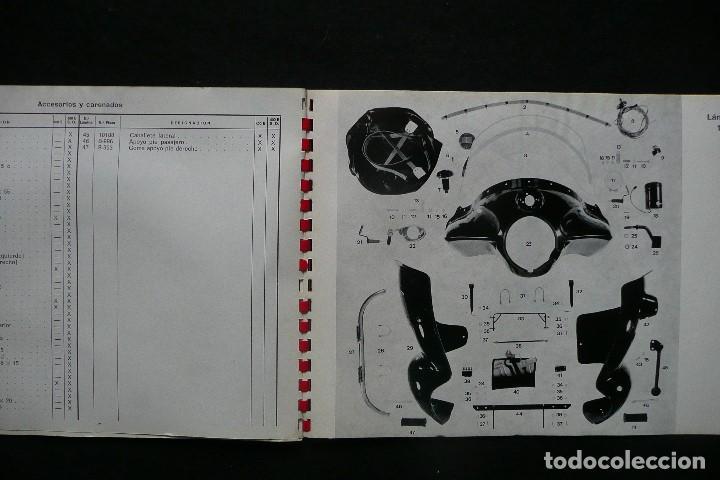 Coches y Motocicletas: SANGLAS 400E-CATALOGO GENERAL PIEZAS DE RECAMBIO (AÑO 1974) - Foto 4 - 136262190