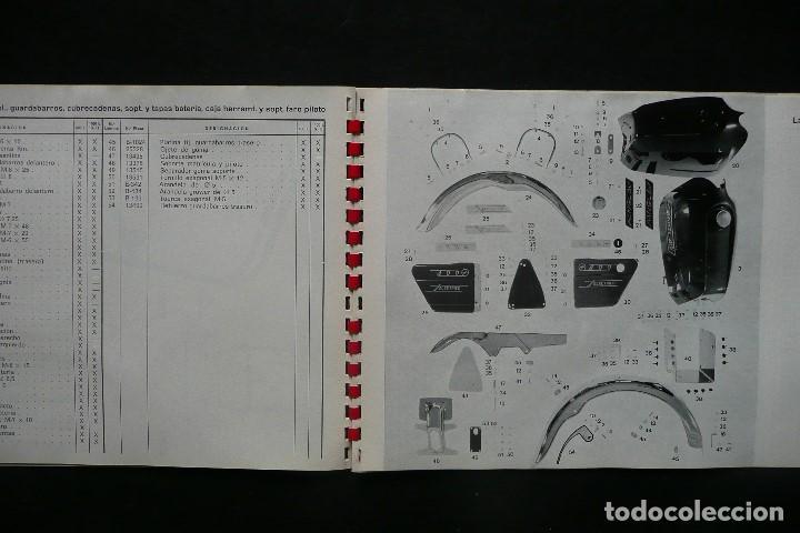 Coches y Motocicletas: SANGLAS 400E-CATALOGO GENERAL PIEZAS DE RECAMBIO (AÑO 1974) - Foto 6 - 136262190