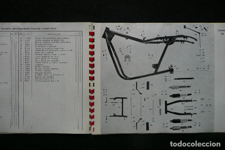 Coches y Motocicletas: SANGLAS 400E-CATALOGO GENERAL PIEZAS DE RECAMBIO (AÑO 1974) - Foto 7 - 136262190
