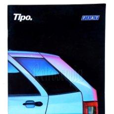 Coches y Motocicletas: CATALOGO PUBLICIDAD FIAT TIPO AÑOS 90. Lote 136526534