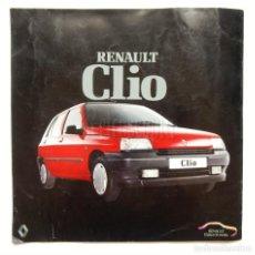 Coches y Motocicletas: CATÁLOGO PUBLICIDAD RENAULT CLIO AÑOS 90 EN CASTELLANO. Lote 136589186