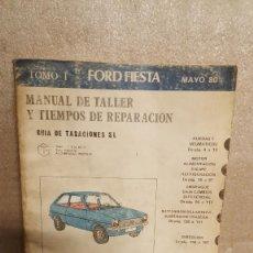 Coches y Motocicletas: MANUAL DE TALLER FORD FIESTA . Lote 136787118