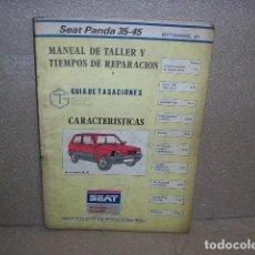 Coches y Motocicletas: MANUAL DE TALLER SEAT PANDA. Lote 136798306