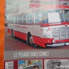 Coches y Motocicletas: PEGASO COMET 5061 - FASCICULO EN FRANCES DEL VEHICULO Y LEYLAND Y AUTOBUES GIBRALTAR. Lote 137139014