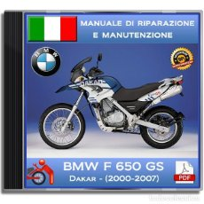 Coches y Motocicletas: BMW F 650 GS - DAKAR (2000-2007) - MANUALE OFFICINA - ITALIANO. Lote 137164030