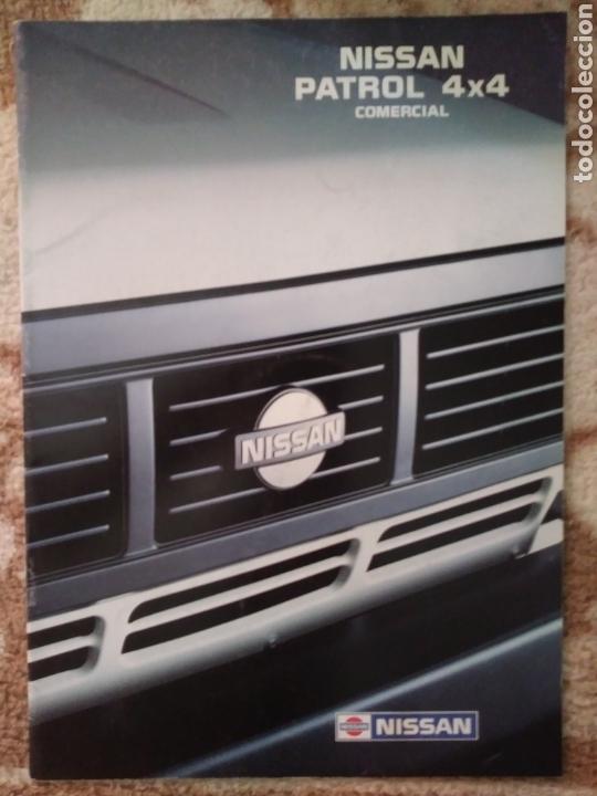 CATÁLOGO NISSAN PATROL 4X4 COMERCIAL (Coches y Motocicletas Antiguas y Clásicas - Catálogos, Publicidad y Libros de mecánica)