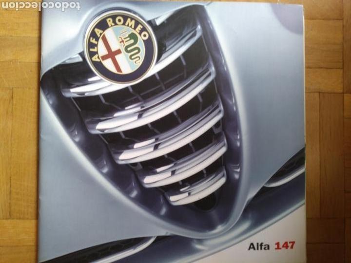 CATÁLOGO ALFA ROMEO 147 (Coches y Motocicletas Antiguas y Clásicas - Catálogos, Publicidad y Libros de mecánica)