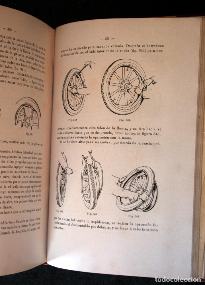 Coches y Motocicletas: TRATADO PRACTICO DE AUTOMOVILES - GUILLERMO ORTEGA / RICARDO GOYTRE - 1914 - Foto 3 - 137561850