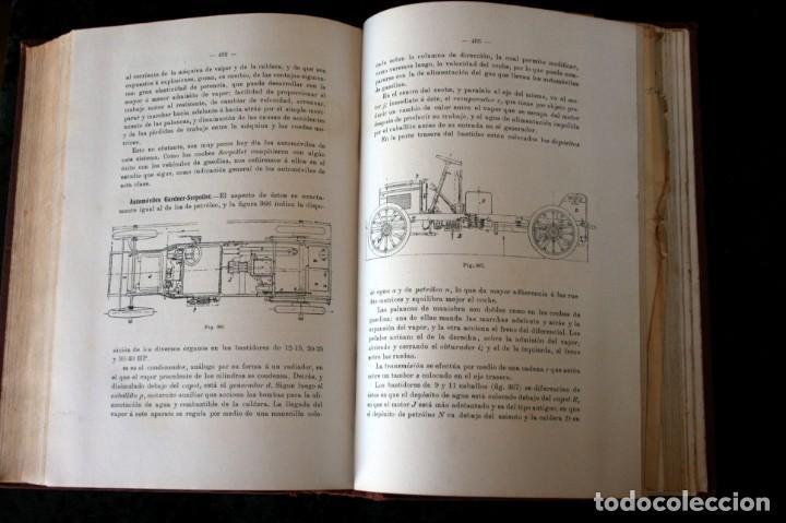 Coches y Motocicletas: TRATADO PRACTICO DE AUTOMOVILES - GUILLERMO ORTEGA / RICARDO GOYTRE - 1914 - Foto 5 - 137561850