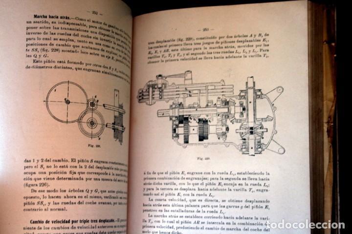 Coches y Motocicletas: TRATADO PRACTICO DE AUTOMOVILES - GUILLERMO ORTEGA / RICARDO GOYTRE - 1914 - Foto 6 - 137561850