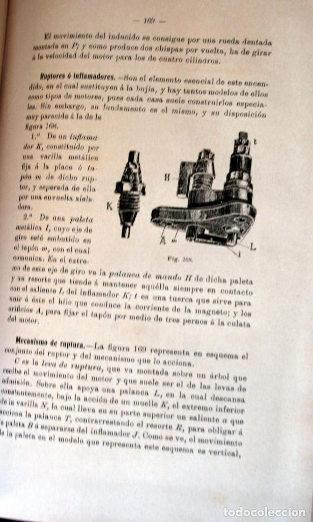 Coches y Motocicletas: TRATADO PRACTICO DE AUTOMOVILES - GUILLERMO ORTEGA / RICARDO GOYTRE - 1914 - Foto 7 - 137561850