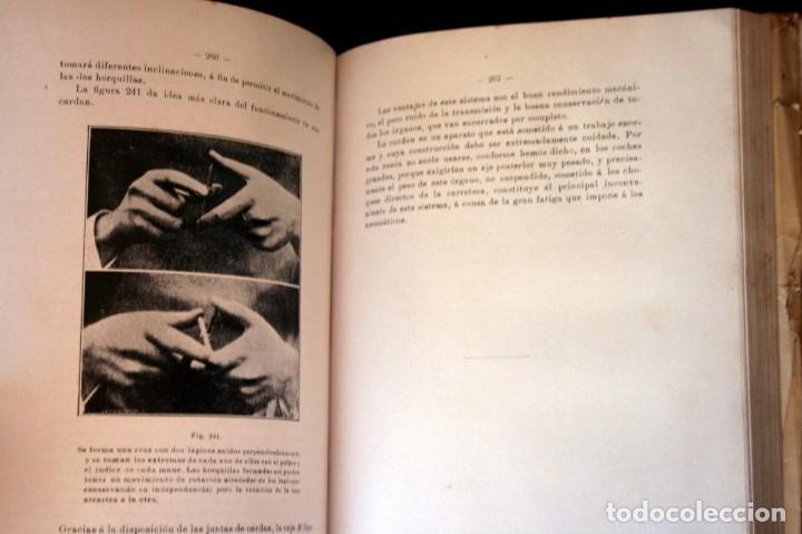 Coches y Motocicletas: TRATADO PRACTICO DE AUTOMOVILES - GUILLERMO ORTEGA / RICARDO GOYTRE - 1914 - Foto 10 - 137561850
