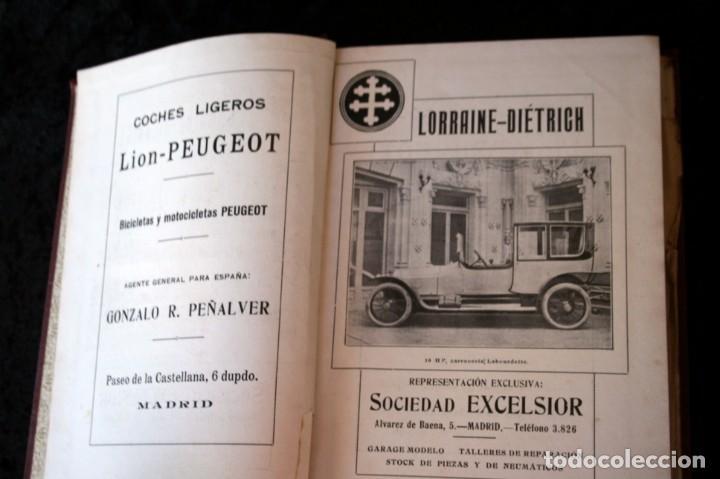 Coches y Motocicletas: TRATADO PRACTICO DE AUTOMOVILES - GUILLERMO ORTEGA / RICARDO GOYTRE - 1914 - Foto 11 - 137561850
