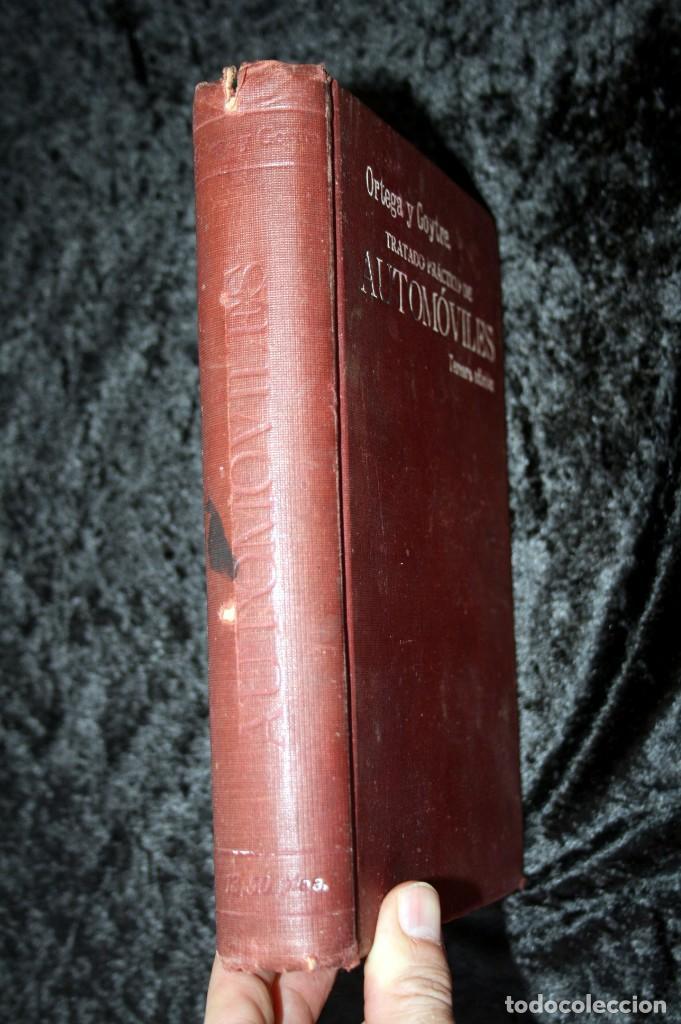 Coches y Motocicletas: TRATADO PRACTICO DE AUTOMOVILES - GUILLERMO ORTEGA / RICARDO GOYTRE - 1914 - Foto 12 - 137561850