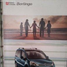 Coches y Motocicletas: CATÁLOGO CITROËN BERLINGO. Lote 137981738