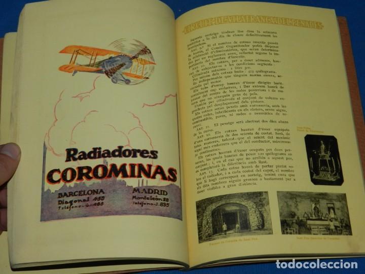 Coches y Motocicletas: CATALOGO PROGRAMA PENYA RHIN II GRAN PREMI 1922 VILAFRANCA DEL PENEDES , COCHES - Foto 6 - 138048138