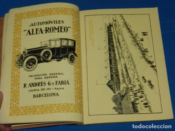 Coches y Motocicletas: CATALOGO PROGRAMA PENYA RHIN II GRAN PREMI 1922 VILAFRANCA DEL PENEDES , COCHES - Foto 7 - 138048138
