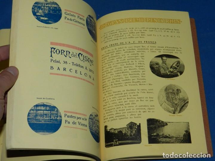 Coches y Motocicletas: CATALOGO PROGRAMA PENYA RHIN II GRAN PREMI 1922 VILAFRANCA DEL PENEDES , COCHES - Foto 8 - 138048138