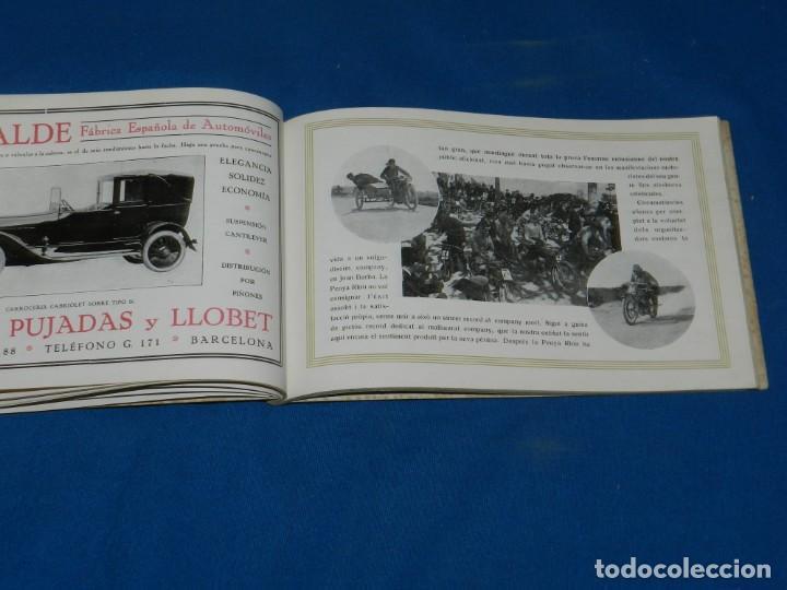 Coches y Motocicletas: PROGRAMA CURSA INTERNACIONAL DE VOITURETTES GRAN PREMI PENYA RHIN 1921 COCHES , ILUSTRADO - Foto 6 - 138048578