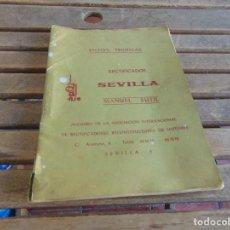 Coches y Motocicletas: FICHAS TECNICAS RECTIFICADOS SEVILLA MANUEL SUTIL SEAT PERKINS PEGASO MERCEDES RENAULT JHON DEERE. Lote 138083918