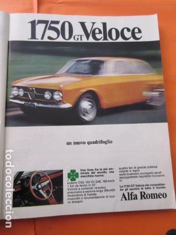 PUBLICIDAD 1968 - COLECCION COCHES - ALFA ROMEO 1750 GT VELOCE (Coches y Motocicletas Antiguas y Clásicas - Catálogos, Publicidad y Libros de mecánica)