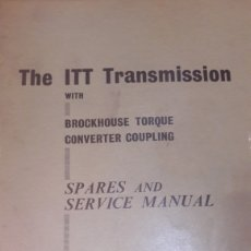 Coches y Motocicletas: THE ITT TRANSMISSION MADE IN BRITAIN BY BROCKHAUSE. Lote 138529841