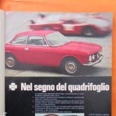 Coches y Motocicletas: PUBLICIDAD 1969 - COLECCION COCHES - ALFA ROMEO 1750 FT. Lote 138558550