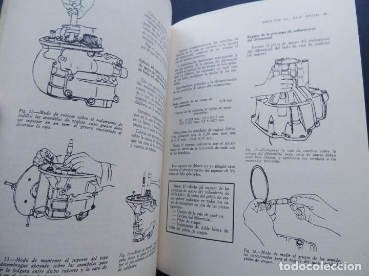 Coches y Motocicletas: REPARAUTO / SIMCA 1200 / MANUAL REPARACION / ATIKA 1976 / 97 ILUSTRACIONES / SIN USAR - Foto 2 - 162685009
