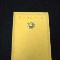 Coches y Motocicletas: CATÁLOGO COCHES RENAULT ORIGINAL DE 1914. Lote 139036402