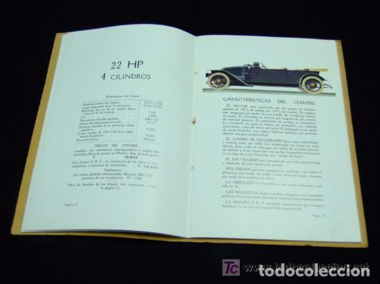 Coches y Motocicletas: CATÁLOGO COCHES RENAULT ORIGINAL DE 1914 - Foto 2 - 139036402