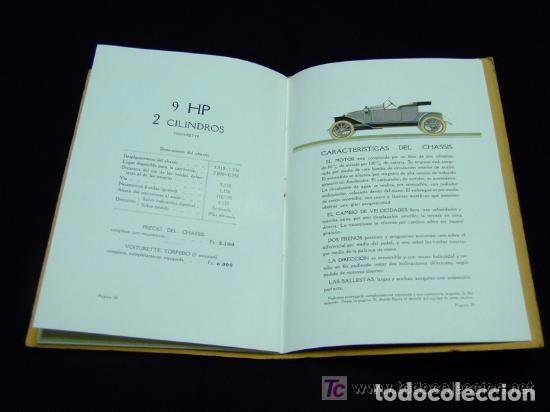 Coches y Motocicletas: CATÁLOGO COCHES RENAULT ORIGINAL DE 1914 - Foto 3 - 139036402