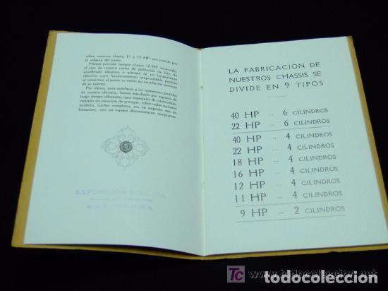 Coches y Motocicletas: CATÁLOGO COCHES RENAULT ORIGINAL DE 1914 - Foto 4 - 139036402