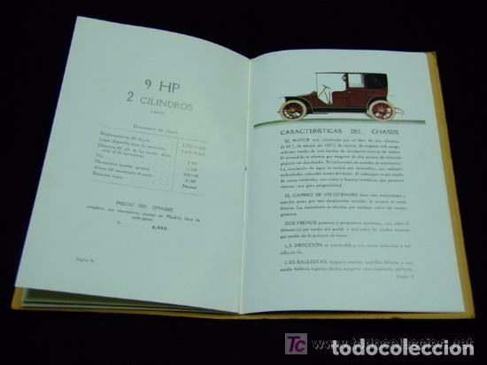 Coches y Motocicletas: CATÁLOGO COCHES RENAULT ORIGINAL DE 1914 - Foto 5 - 139036402