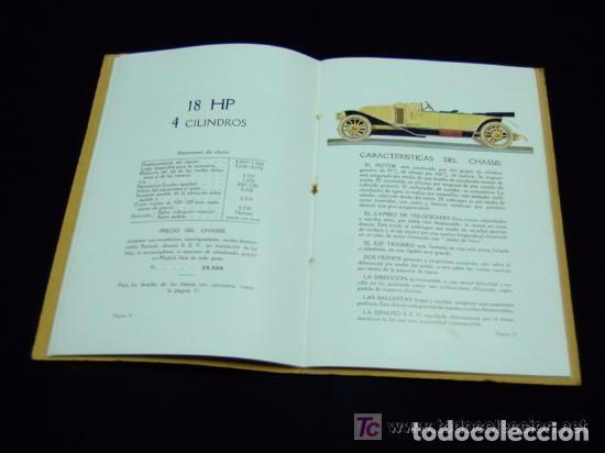 Coches y Motocicletas: CATÁLOGO COCHES RENAULT ORIGINAL DE 1914 - Foto 9 - 139036402