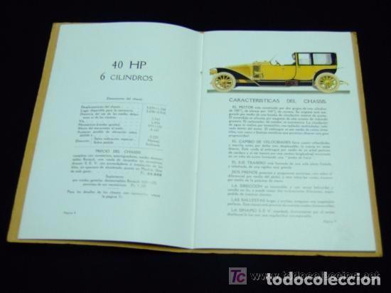 Coches y Motocicletas: CATÁLOGO COCHES RENAULT ORIGINAL DE 1914 - Foto 12 - 139036402