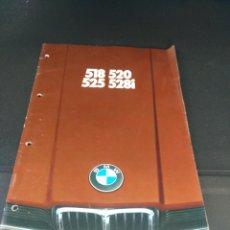 Coches y Motocicletas: LUJOSO CATALOGO BMW 518 520 528 EN ALEMAN. Lote 139377688