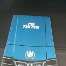 Coches y Motocicletas: CATALOGO BMW EN ALEMAN 728 730 733I. Lote 139377749