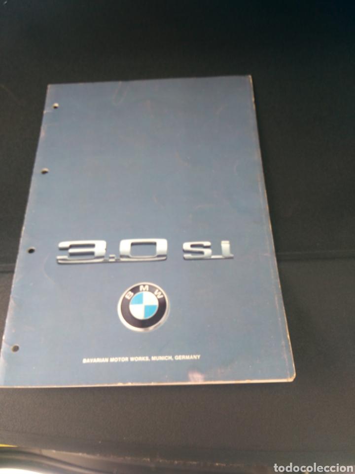 CATALOGO BMW 3.0 SI EN ALEMAN (Coches y Motocicletas Antiguas y Clásicas - Catálogos, Publicidad y Libros de mecánica)