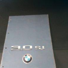 Coches y Motocicletas: CATALOGO BMW 3.0 SI EN ALEMAN. Lote 139378084