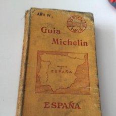 Coches y Motocicletas: GUIA MICHELIN 1913. Lote 139504390
