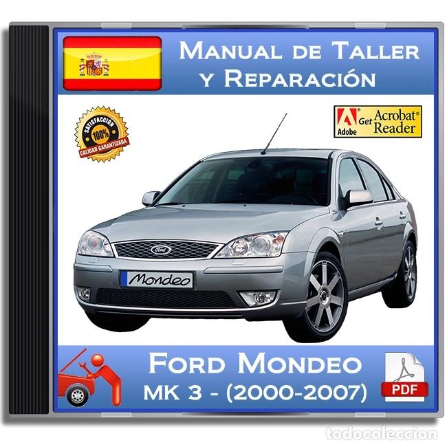Ford mondeo mk3 kezelési kézikönyv