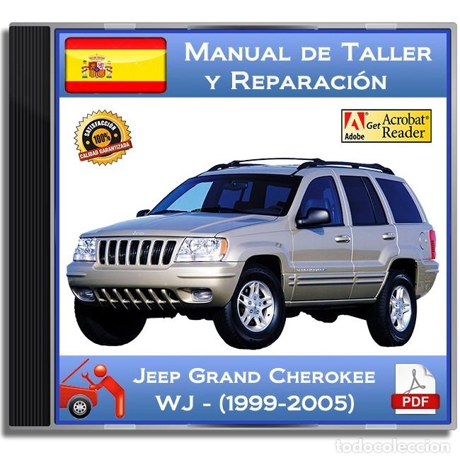 jeep grand cherokee - wj - (1999-2005) - manual - verkauft durch