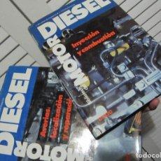 Coches y Motocicletas: LOTE 2 LIBROS MOTOR DIESEL. Lote 140195438