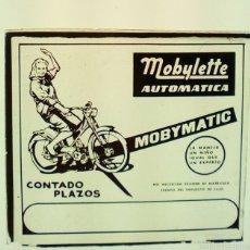 Coches y Motocicletas: MOBYLETTE PUBLICIDAD. Lote 140222108