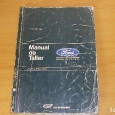 Coches y Motocicletas: MANUAL TALLER GUÍA TASACIONES FORD ESCORT 1989 REPARACIÓN AUTOMÓVIL COCHE. Lote 140375038