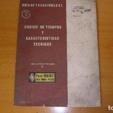 Coches y Motocicletas: MANUAL TALLER GUÍA TASACIONES RENAULT 18 1979 REPARACIÓN COCHE AUTOMÓVIL. Lote 140474170