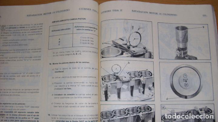 Coches y Motocicletas: MANUAL TALLER GUÍA TASACIONES CITROEN VISA 1984 2 TOMOS REPARACIÓN AUTOMÓVIL COCHE - Foto 5 - 140497238