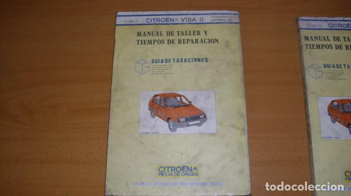 Coches y Motocicletas: MANUAL TALLER GUÍA TASACIONES CITROEN VISA 1984 2 TOMOS REPARACIÓN AUTOMÓVIL COCHE - Foto 6 - 140497238