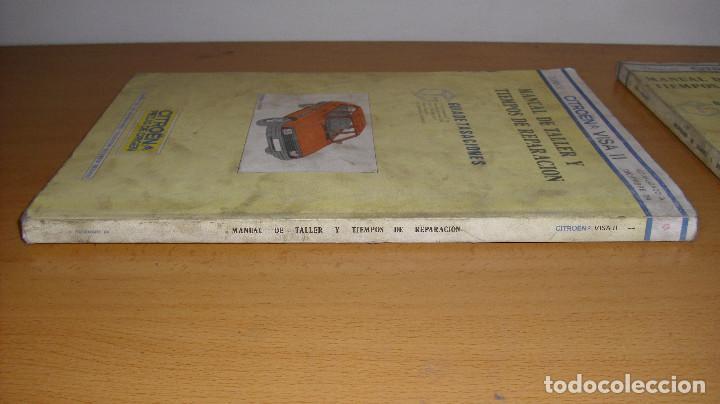 Coches y Motocicletas: MANUAL TALLER GUÍA TASACIONES CITROEN VISA 1984 2 TOMOS REPARACIÓN AUTOMÓVIL COCHE - Foto 7 - 140497238